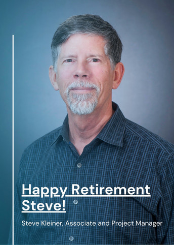 Happy Retirement Steve Kleiner