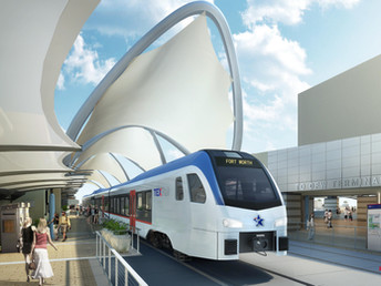 Catch a Ride to DFW Airport on the TEXRail!
