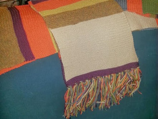 4th Doctor Scarf 4 - Sport Weight Wool and the Glaring Imperfection