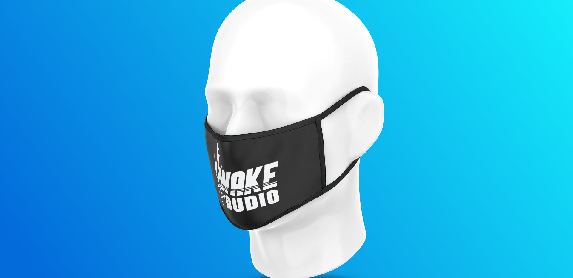 wake audio covid mask