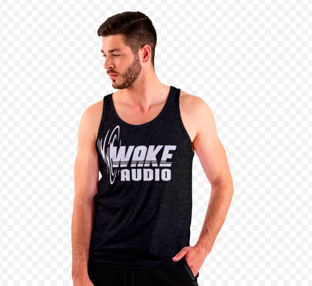 wake audio tank top