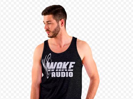 wake audio tank top