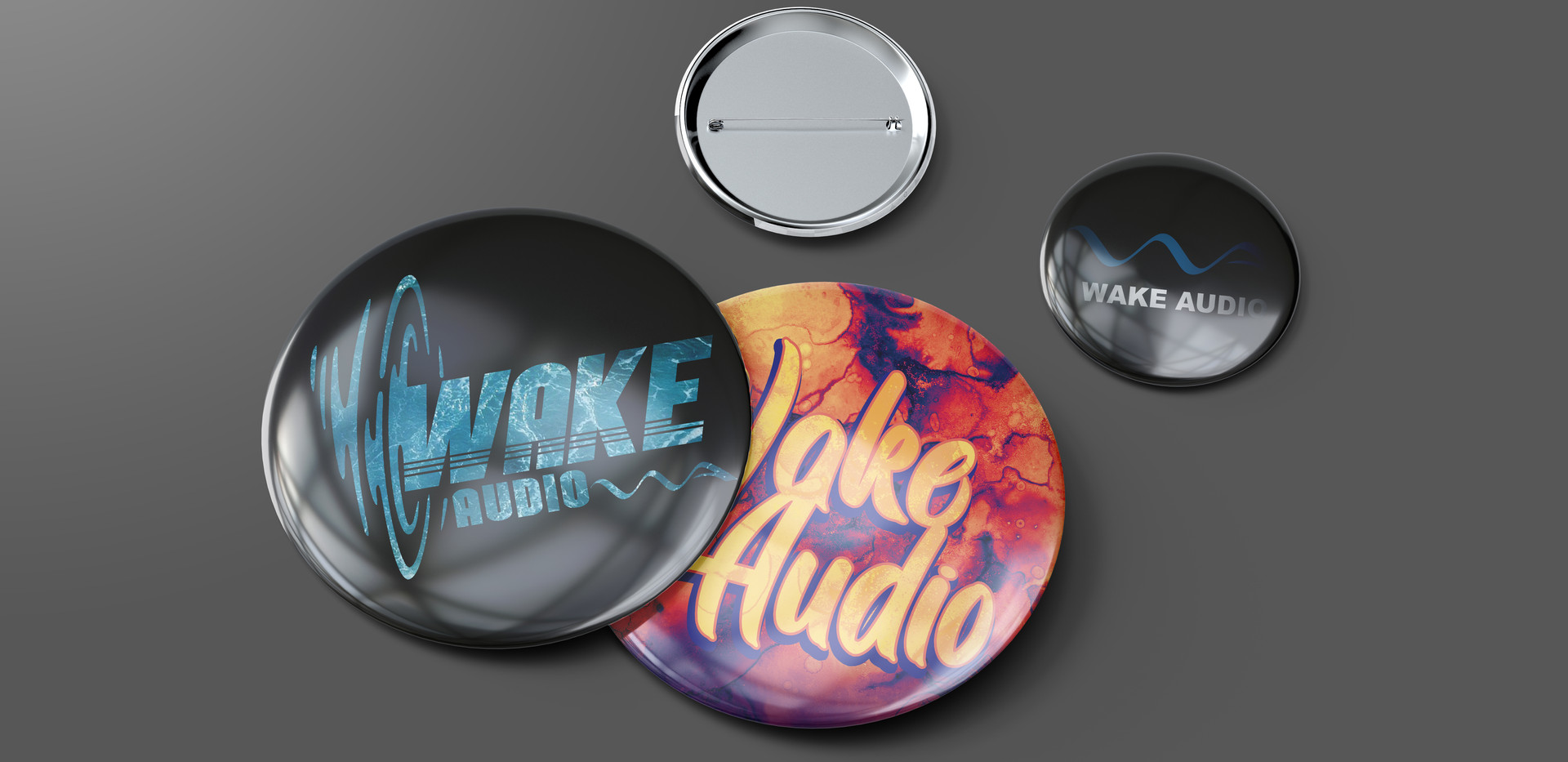 wake audio button