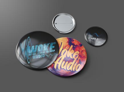wake audio button