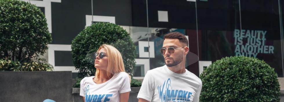 wake audio t shirts