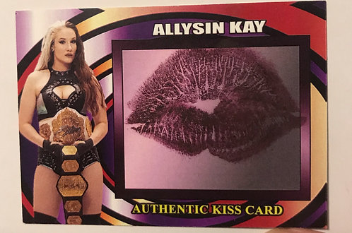 Authentic Kiss Cards