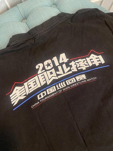 [GEAR] Autographed WWN China Tour Shirt