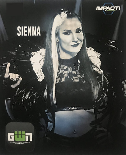 """Autographed 8x10 - """"Official Impact"""""""