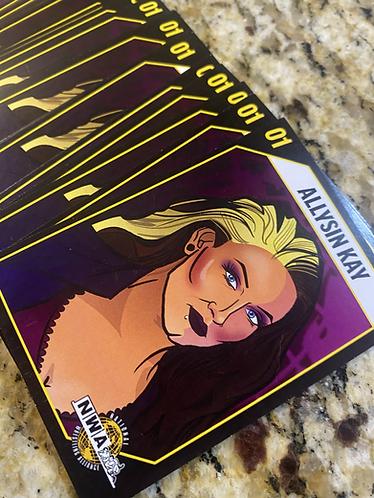 NWA Trading Card