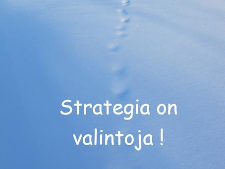Onko tämän vuoden strategia lyöty jo lukkoon?