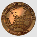 New York Festival Bronze World Medal 2018