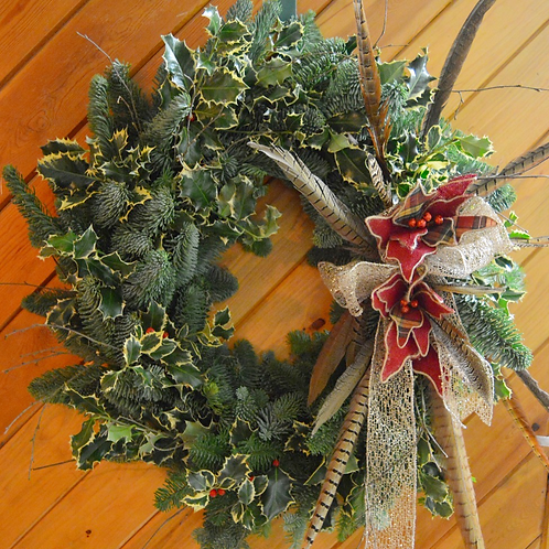 Large Luxury Christmas Door Wreath