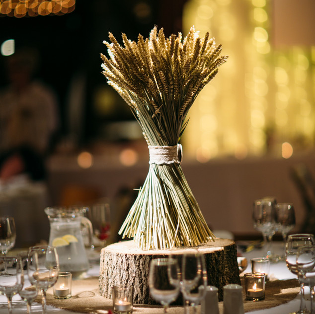 Dried Flower Wedding Posey in a Twist