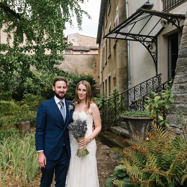 2020 French Wedding with Dried Lavender