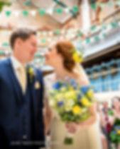 Spring Wild Wedding Bouquet Lancashire