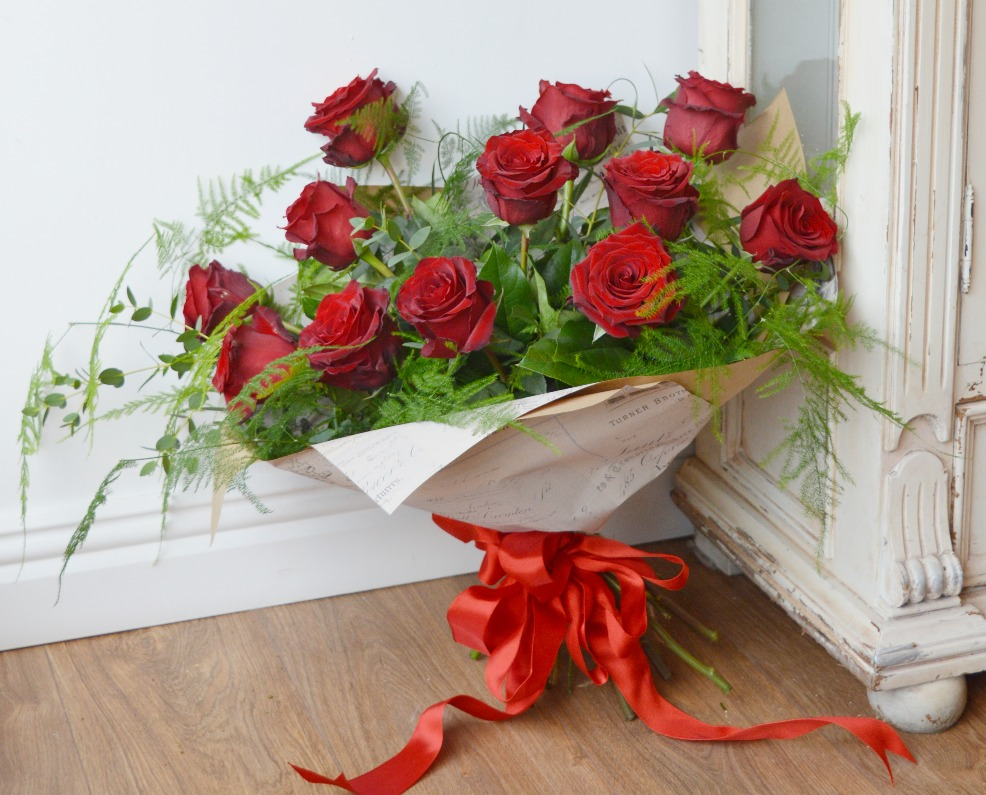 Red Rose Valentines Bouquet