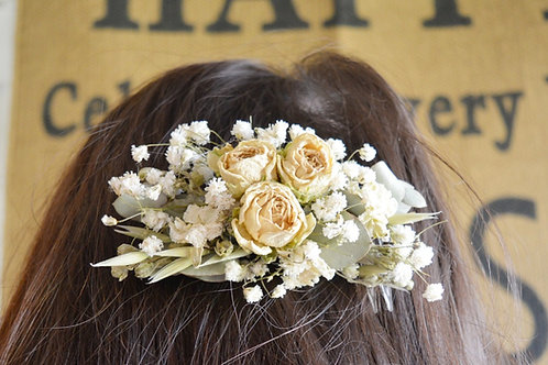 Natural Flower Comb