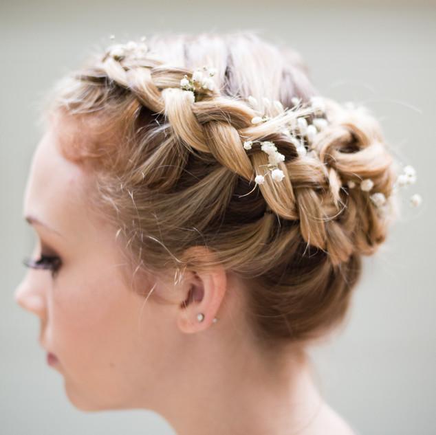 Dried Floral Bridal Hair Clips