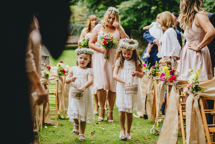 British Flowers for a Festival Style Wedding