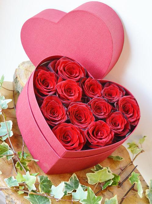 Elegant Heart of Roses