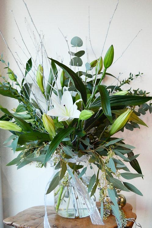 Stylish British Lily Vase
