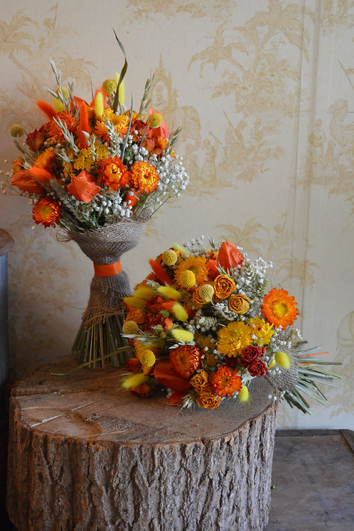 Vibrant Orange & Yellow Bouquet