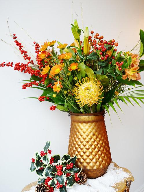 Luxury Christmas Flower Vase