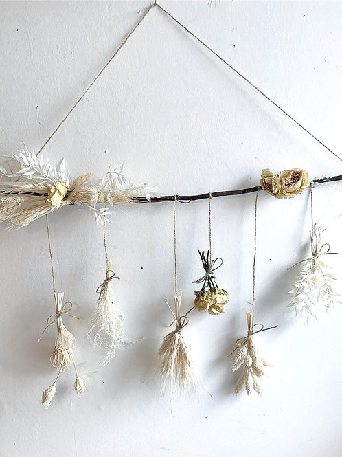 Dried & Wild Letterbox Wall Hanging Bleach