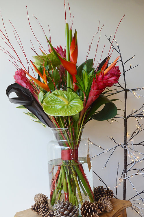 Tropical Christmas Eco Flowers