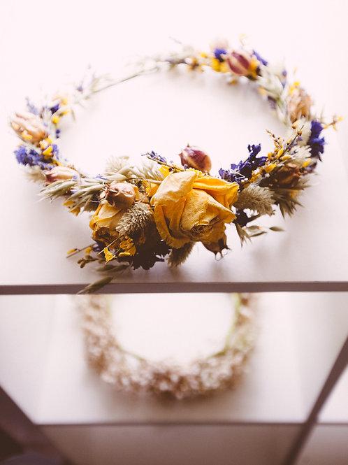 Summery Dried Flower Crown