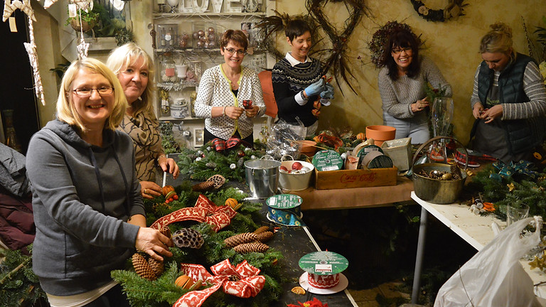 Christmas Wreath Workshop - Wednesday Evening