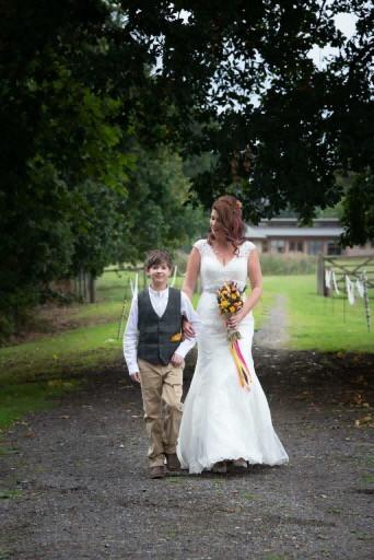 Vibarant Hand Tied Bride Bouquet