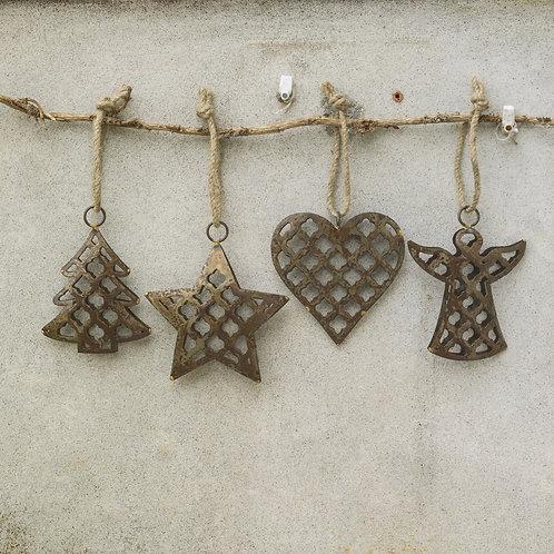 Marrakesh Christmas Decorations (Set of 4)
