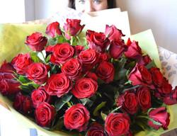 Red Rose Valentines Bouquet