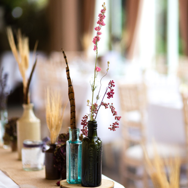 Dried Flower Vases for Tables