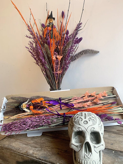 Halloween Dried & Wild Letterbox Flowers