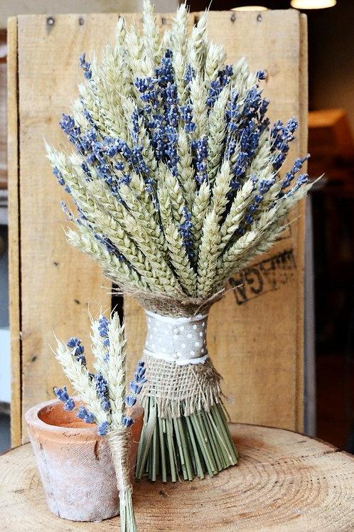Wheat & Lavender Bouquet