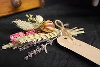 Vintage Dried Flower Buttonhole Lancashi