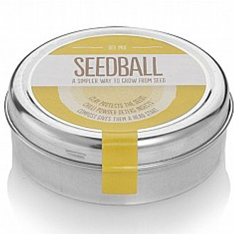 Bee & Butterfly SEEDBALL Tins