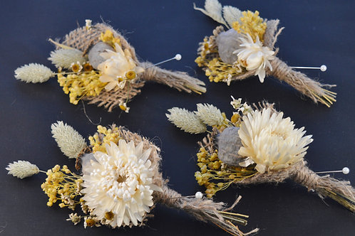 Summery Dried Buttonholes - Package