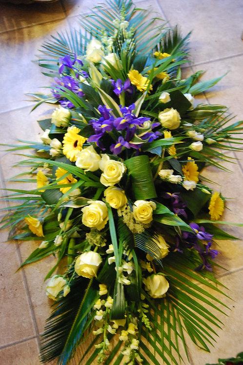 Contemporary Casket Flowers