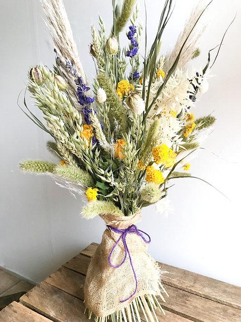 Sunshine Dried Flower Bouquet