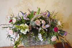 Rustic Flower Basket Bolton