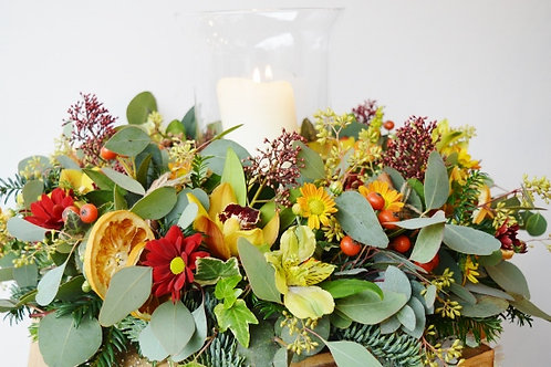 Large Orchid Table Centre