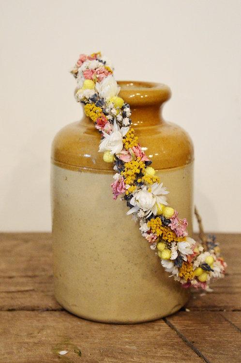 Dainty Vibrant Flower Crown