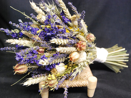 Lilac and Lavender Bouquet