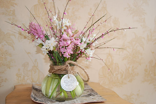Scented Hyacinth Vase