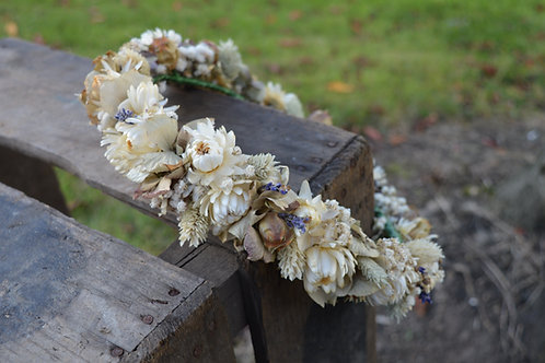 Natural Dried Flower Crown