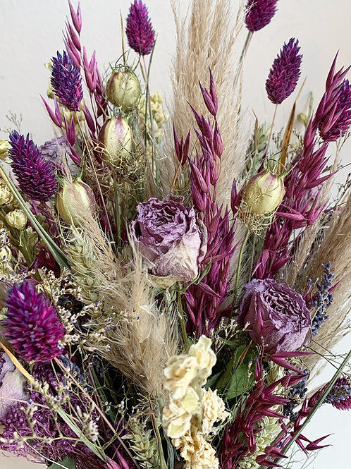Lullaby Dried Flower Bouquet