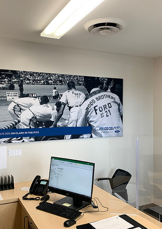 Dealership Wall Graphics